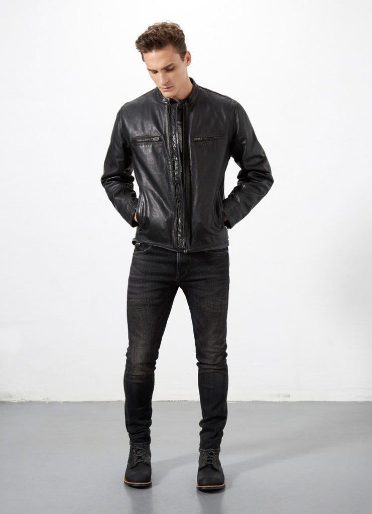 "Norton By Pepe Jeans Jacket ""COMMANDO"" Black"