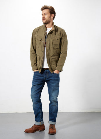 "Norton By Pepe Jeans Jacket ""DOMINATOR II"" Military Green"