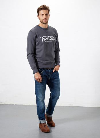 "Norton By Pepe Jeans Sweat ""FASTBACK"" Grey"