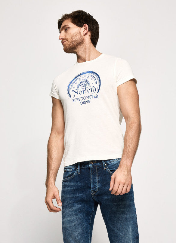 "Norton By Pepe Jeans T-Shirt ""MANSEL"" Natural"
