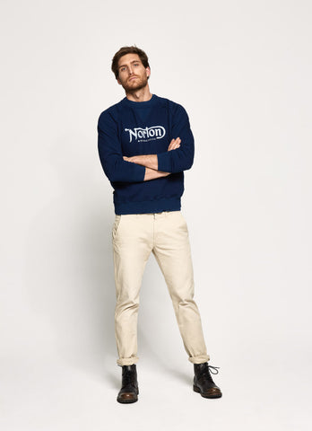 "Norton By Pepe Jeans Sweat ""FRED"" Indigo"