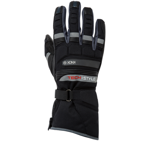 "Knox Gloves Men ""Techstyle Motorcycles"" Black (KNX 11359010030)"