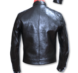 "Lewis Leathers Jacket Men ""Universal Racer MK 2"" Black Sheep (LL UVR-MK2-BlkSheep)"