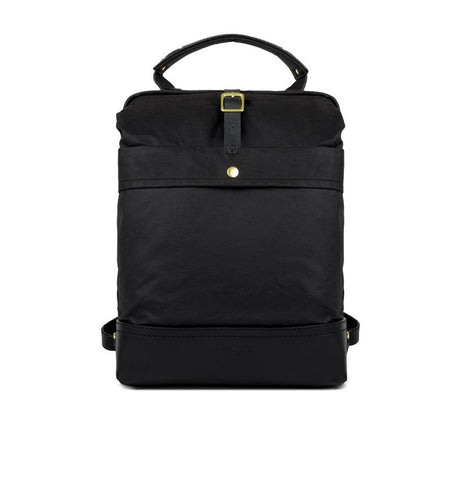 "Malle London ""John Hybrid Backpack"" Black"