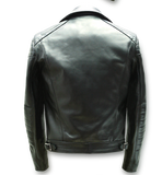 "Lewis Leathers Jacket Men ""Europa"" Black Cow (LL 439-Black)"