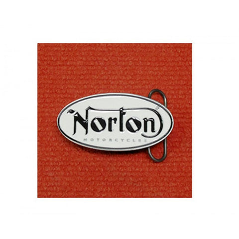 "Norton Belt Buckle ""Oval"" White (NTN 1991207)"
