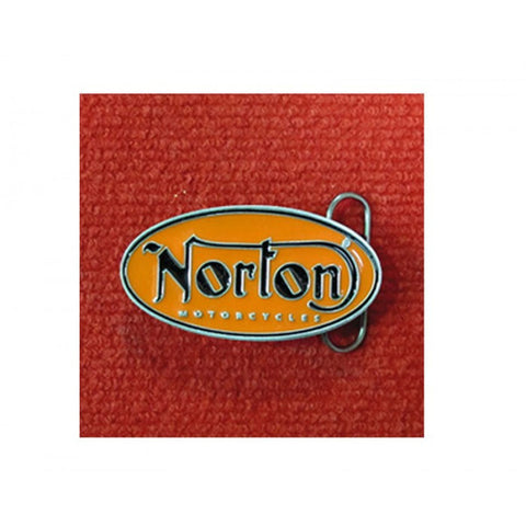 "Norton Belt Buckle ""Oval"" Orange (NTN 1991208)"