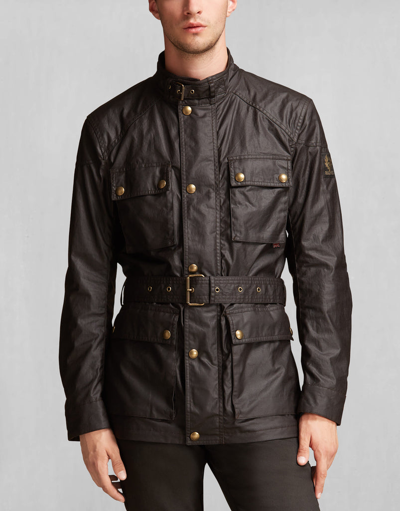 "Belstaff Jacket ""ROADMASTER"" Brown (BELS 71050045-BRW)"