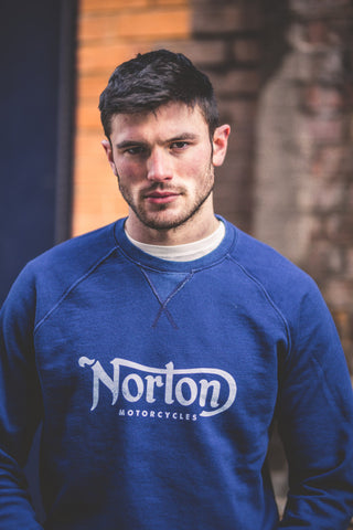 "Norton By Pepe Jeans Sweat ""FRED"" Blue"