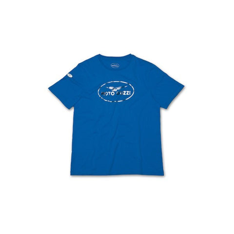 "Moto Guzzi Vetements ""T-Shirt Original Bleu"" (605790M02A)"