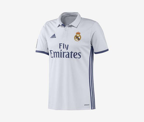 2016-17 Real Madrid Home Jersey