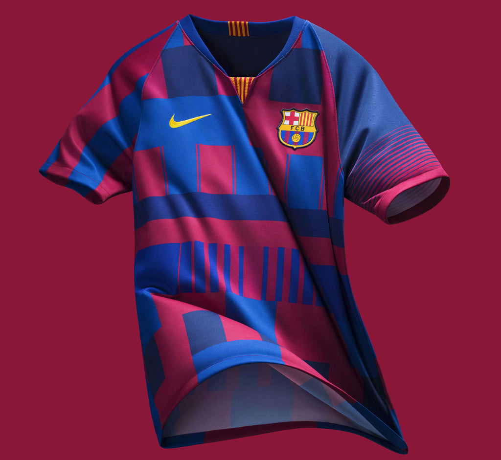 new product 351a6 d2cc7 FC Barcelona x Nike 20-Year Anniversary Jersey – Pelé Soccer