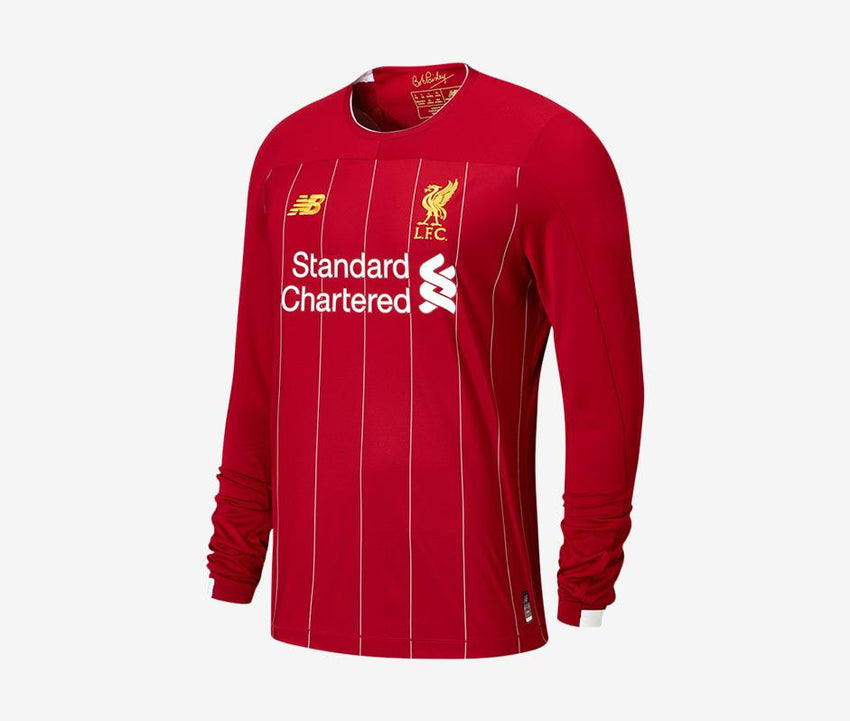 33b0d38c4e1 Liverpool 2019-20 Youth Home LS Jersey – Pelé Soccer