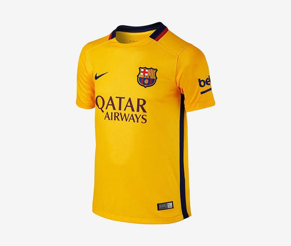 Nike FC Barcelona Away Jersey (Youth) (2015-16) - United World Soccer - 1