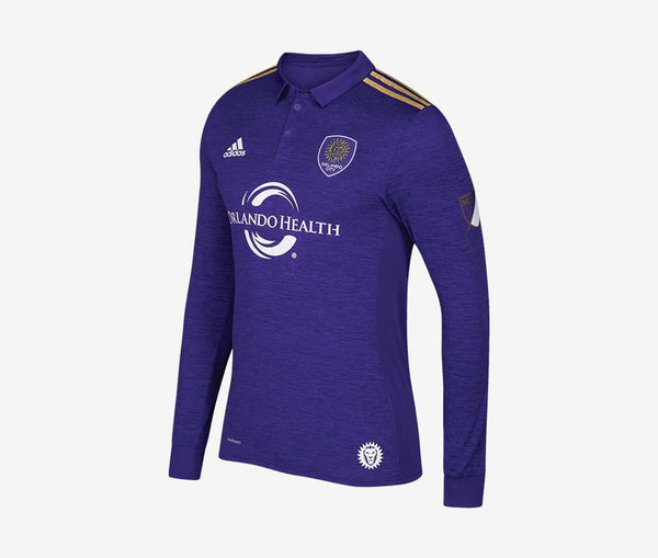 Orlando City 2017-18 Authentic Long-Sleeve Home Jersey