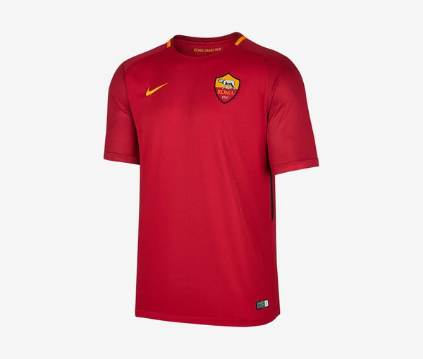 AS Roma 2017-18 Youth Home Jersey