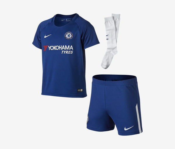 Chelsea 2017-18 Youth Home Mini Kit