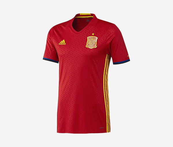 Adidas Spain Home Jersey Authentic - United World Soccer