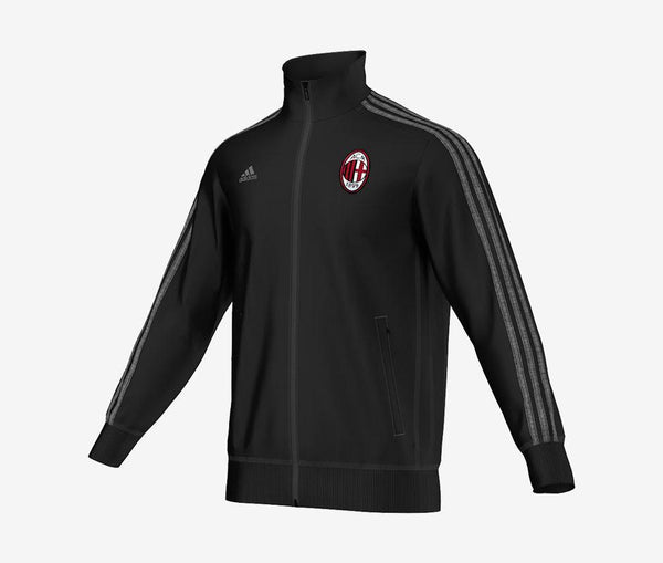 Adidas AC Milan 3-Stripes Track Top - United World Soccer - 1