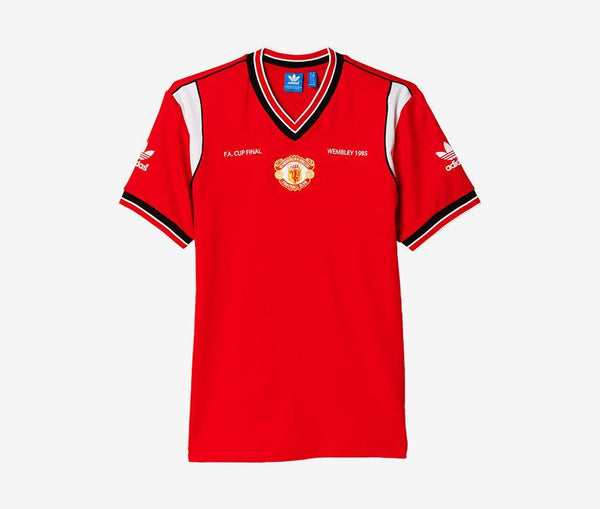 Adidas Manchester United 1985 Home Jersey - United World Soccer