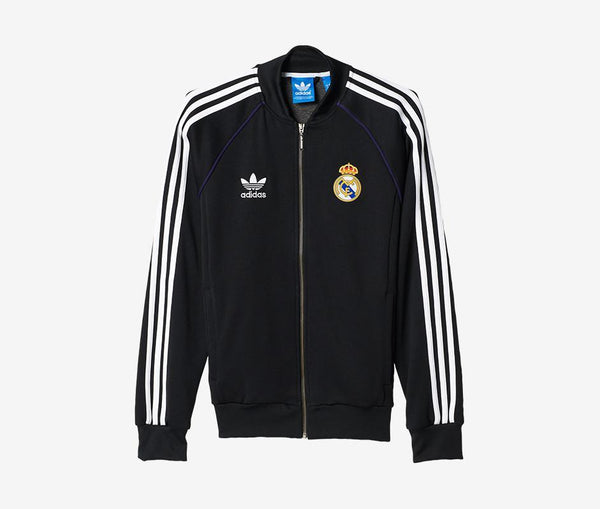 Adidas Real Madrid Superstar Track Top - United World Soccer