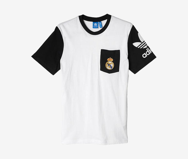 Adidas Real Madrid Pocket Tee - United World Soccer