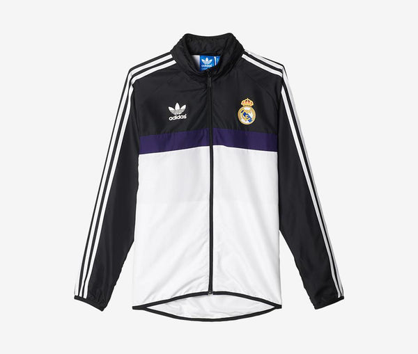 Adidas Real Madrid Windbreaker - United World Soccer
