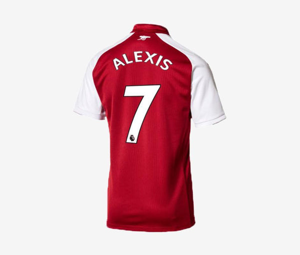 Arsenal 2017-18 Home Jersey - Alexis Sanchez