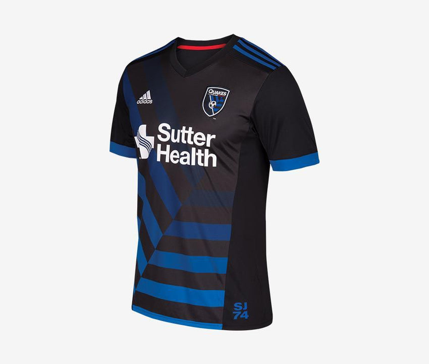 super popular 144dd a1891 San Jose Earthquakes 2018 Home Jersey