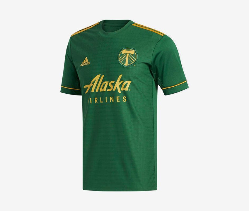 finest selection 91924 67fae Portland Timbers 2018 Home Jersey