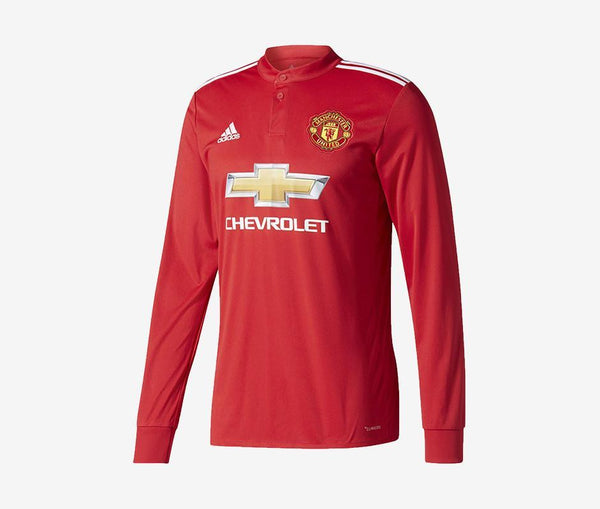 Manchester United 2017-18 Long-Sleeve Home Jersey