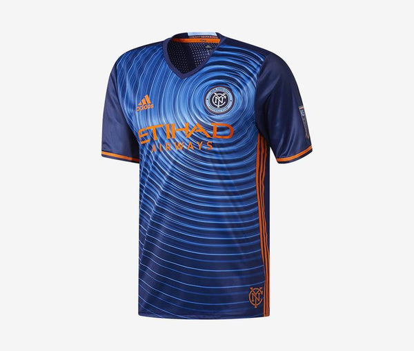 New York City 2016-17 Authentic Away Jersey