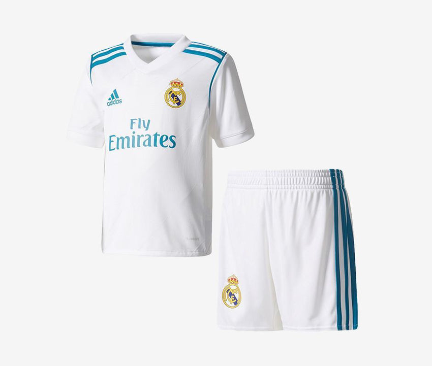 6dee434f5 Real Madrid 2017-18 Mini Home Kit – Yp Soccer
