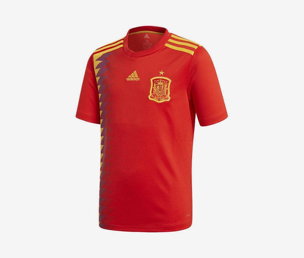 Spain 2018 Youth Home Jersey