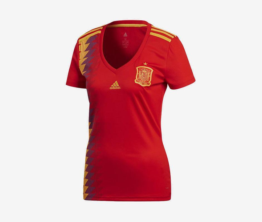 huge discount 87d49 f3559 Adidas Spain 2018 Womens Home Jersey