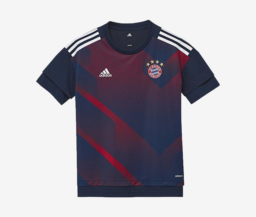 478e08069 Bayern Munich Youth Home Prematch Shirt – Pelé Soccer