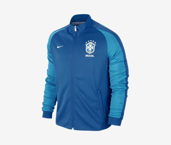Nike Brazil N98 Authentic Jacket - United World Soccer - 1