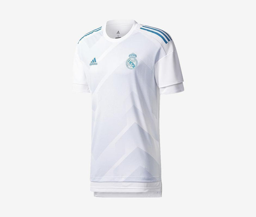 f3e434497 Real Madrid Youth Home Prematch Shirt – Pelé Soccer