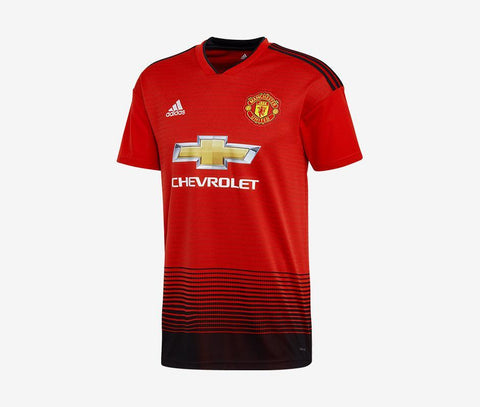 1204fe66b5f9f Manchester United 2018-19 Home Jersey