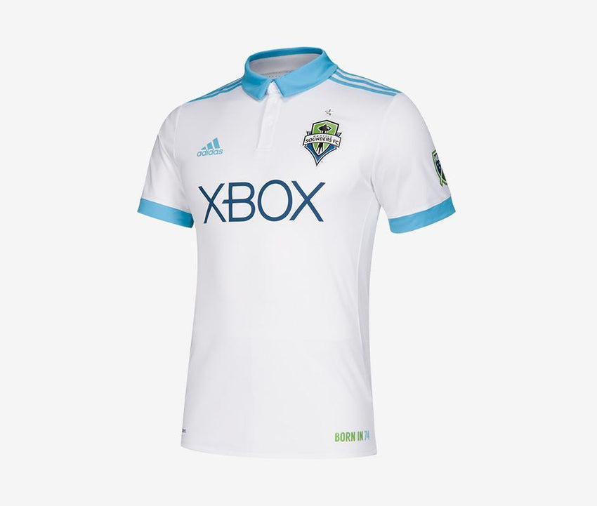 buy online c038a 9b7f3 Seattle Sounders 2018 Away Match Jersey