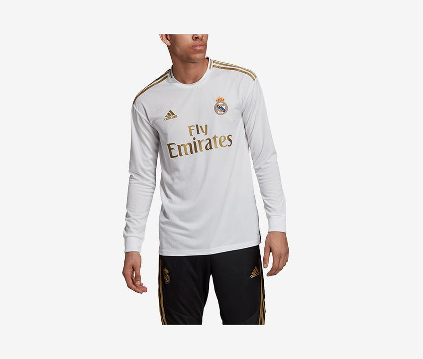 quality design 24f14 18774 Real Madrid 2019-20 Long-Sleeve Home Jersey