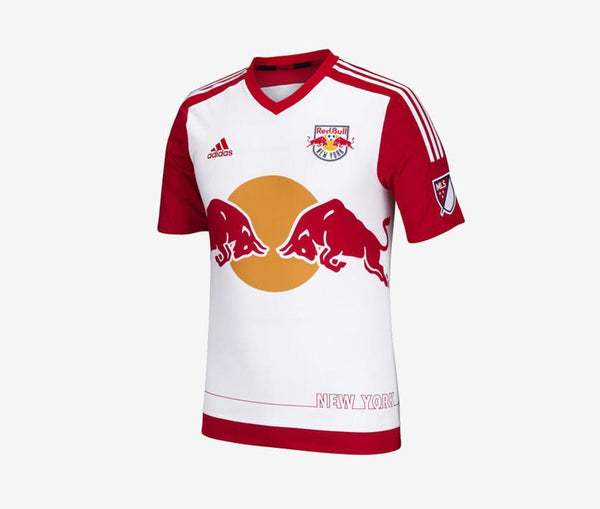 Adidas New York Red Bulls Home Jersey Authentic - United World Soccer - 1