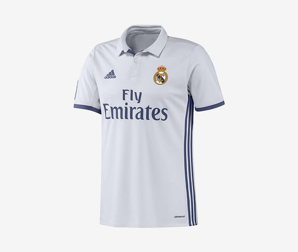 Adidas Real Madrid Youth Home Jersey (2016-17) - United World Soccer - 1