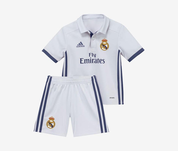 Adidas Real Madrid Mini Home Kit (2016-17) - United World Soccer