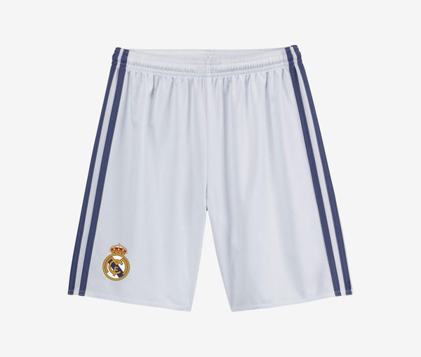 Adidas Real Madrid Youth Home Shorts (2016-17) - United World Soccer