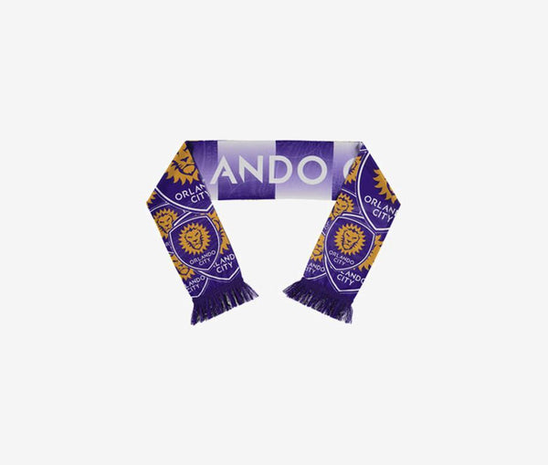 Orlando City Sublimated Scarf