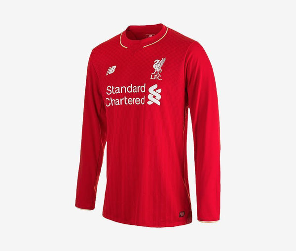 New Balance Liverpool Home Jersey Long-Sleeve - United World Soccer - 1
