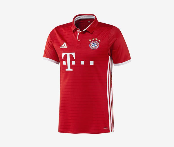 Adidas FC Bayern Munich Home Jersey Youth (2016-17) - United World Soccer - 1