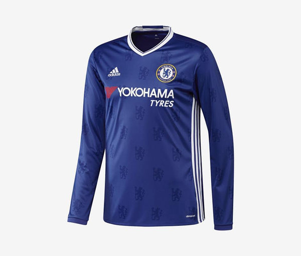 Adidas Chelsea Long-Sleeve Home Jersey (2016-17) - United World Soccer - 1