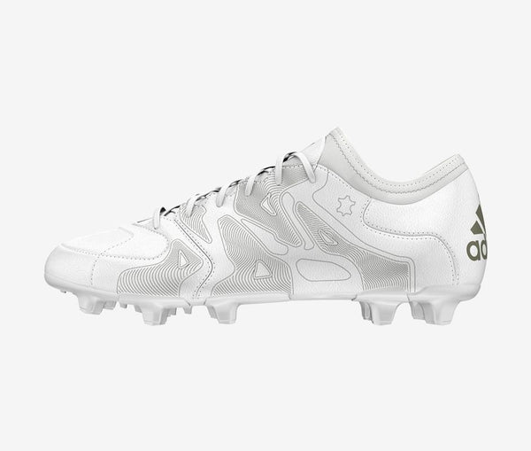 Adidas X 15.1 FG/AG Leather Etch Pack - United World Soccer - 1